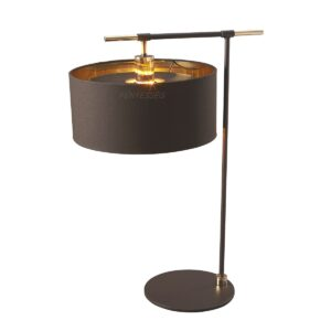 elstead 1izzos asztali lampa balance barna