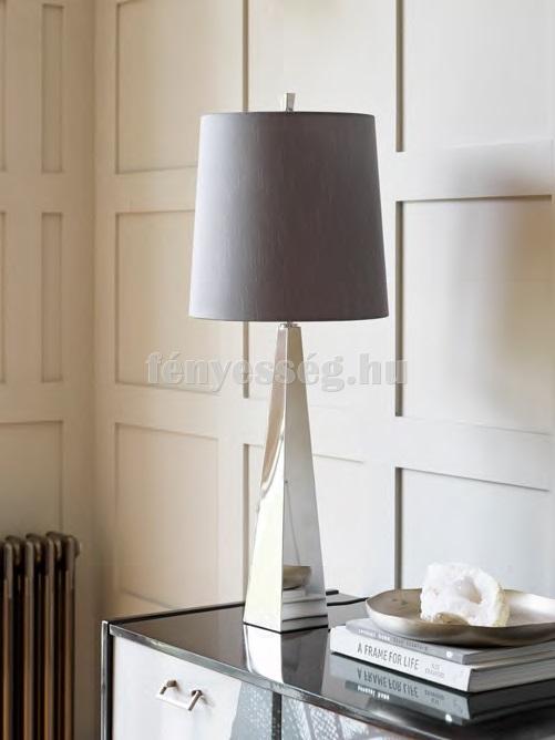Elstead 1izzós asztali lámpa ascent nikkel enteriőr