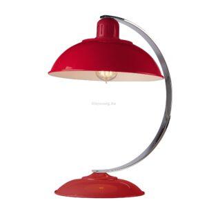 Elstead 1izzós asztali lámpa franklin piros