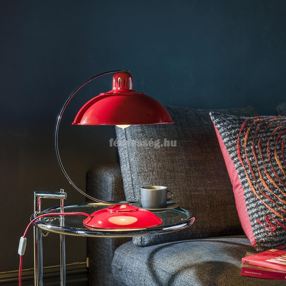 elstead 1izzos asztali lampa franklin piros enterior