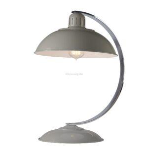 Elstead 1izzós asztali lámpa franklin szürke