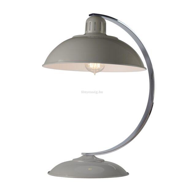 elstead 1izzos asztali lampa franklin szurke