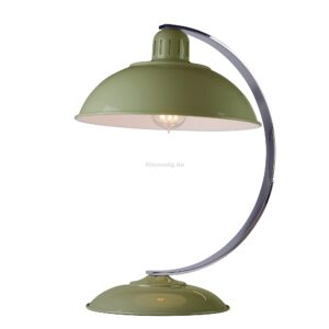 Elstead 1izzós asztali lámpa franklin zöld