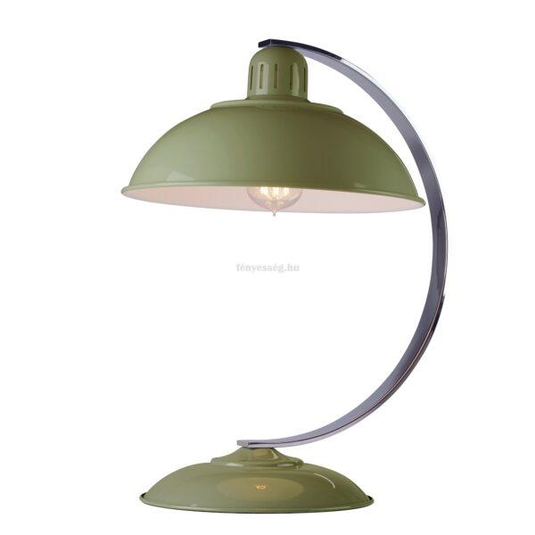 elstead 1izzos asztali lampa franklin zold