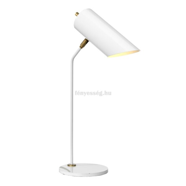 elstead 1izzos asztali lampa quinto feher