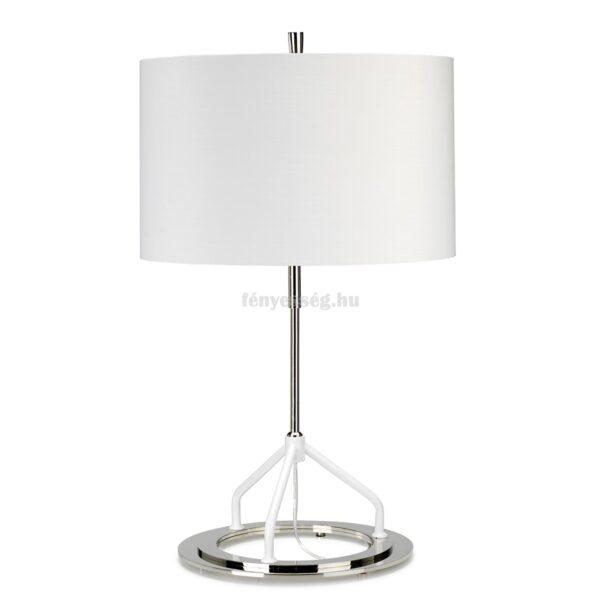 elstead 1izzos asztali lampa vicenza feher