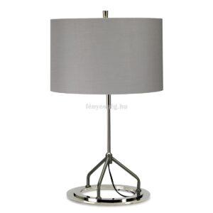 Elstead 1izzós asztali lámpa vicenza szürke