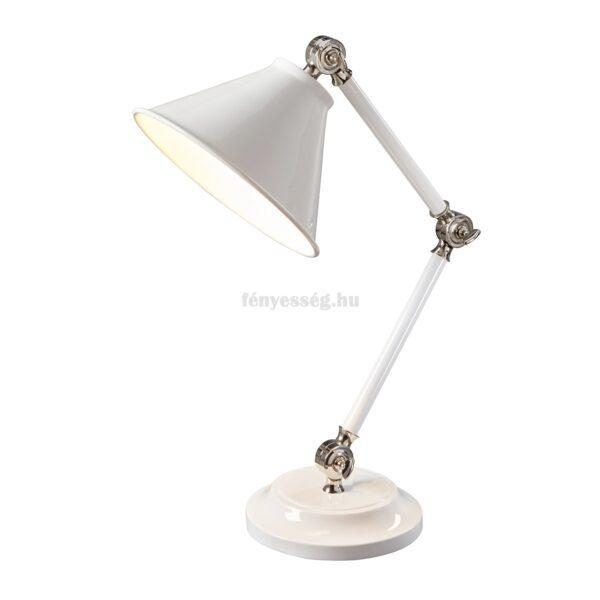 elstead 1izzos mini asztali lampa provence feher