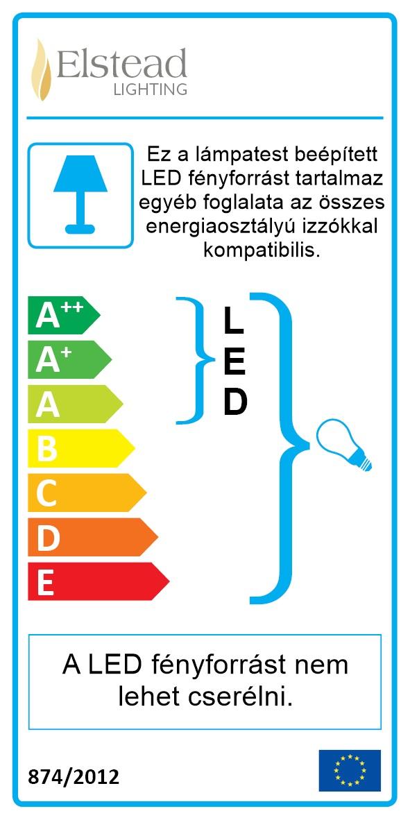 Energetikai tanúsítvány a-e led