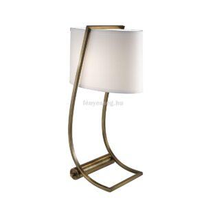 Feiss 1izzós asztali lámpa lex sárgaréz