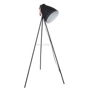 Italux 1izzós állólámpa franklin fekete