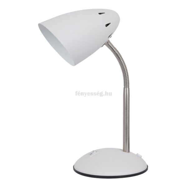 italux 1izzos asztali lampa cosmic feher