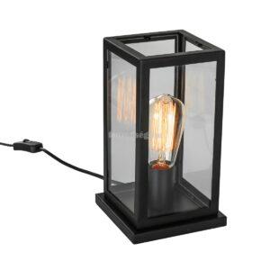 Italux 1izzós asztali lámpa laverno fekete