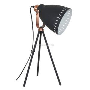 Italux 1izzós kis állólámpa franklin fekete