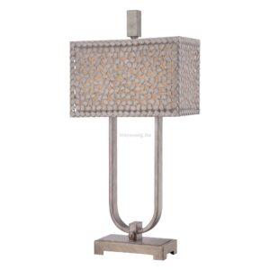 quoizel 2izzos asztali lampa confetti