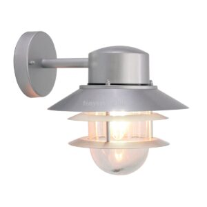 Elstead 1izzós fali lámpa copenhagen ezüst