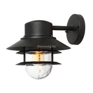 Elstead 1izzós fali lámpa copenhagen fekete
