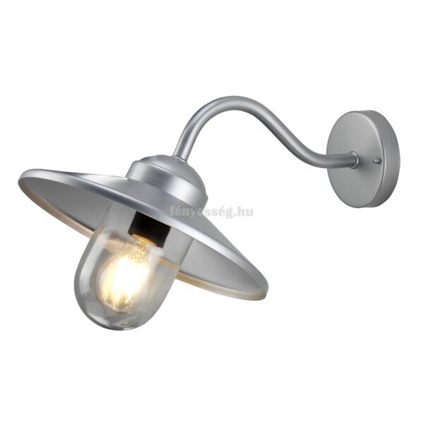 elstead 1izzos fali lampa klampenborg ezust
