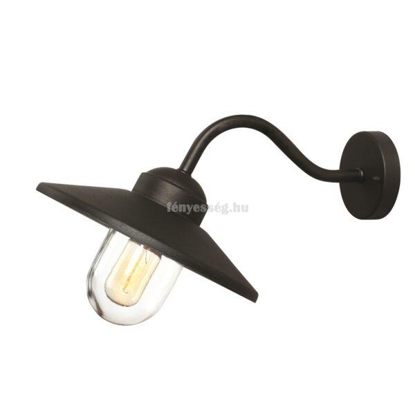 elstead 1izzos fali lampa klampenborg fekete