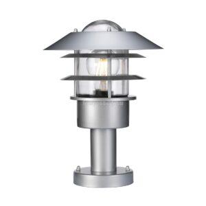 Elstead 1izzós mini állólámpa helsingor ezüst