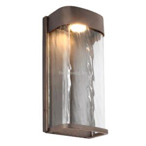 Feiss 1izzós led nagy fali lámpa bennie bronz