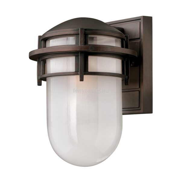 Hinkley 1izzós kis fali lámpa reef bronz