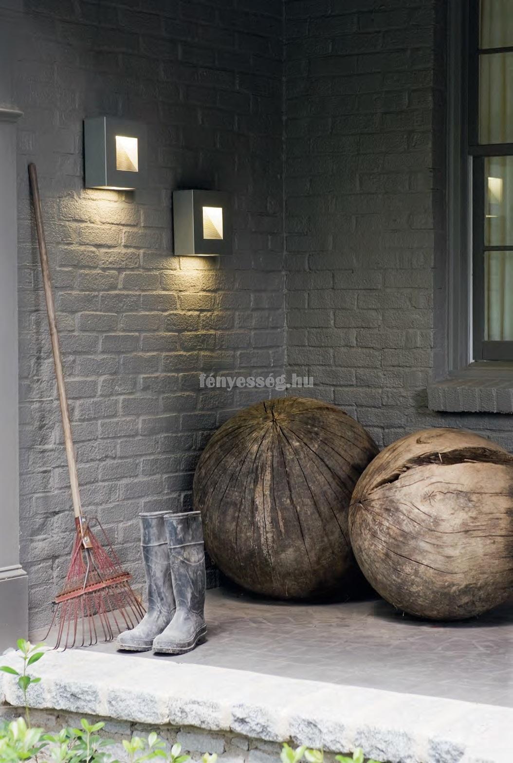hinkley led kis fali lampa luna titan enterior