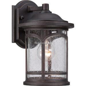 Quoizel 1izzós kis fali lámpa marblehead