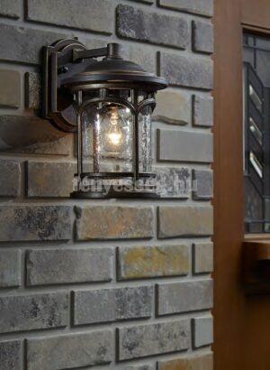 Quoizel 1izzós kis fali lámpa marblehead enteriőr