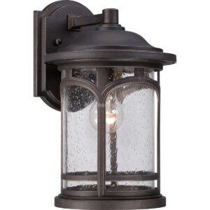 quoizel 1izzos kozepes fali lampa marblehead
