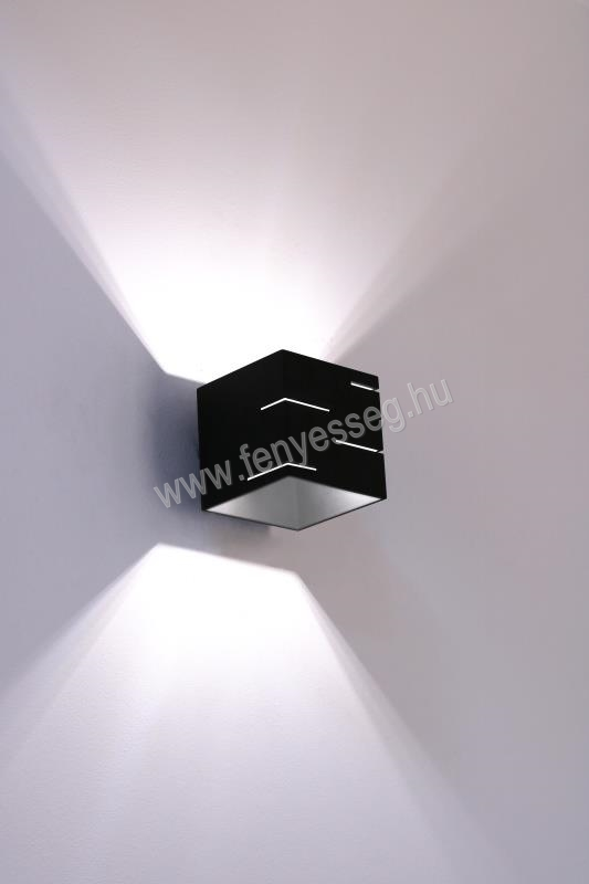 lampex 1izzos fali lampa quado modern 692 a cza felkapcsolva