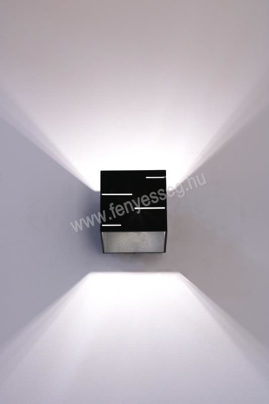 lampex 1izzos fali lampa quado modern 692 a cza felkapcsolva2