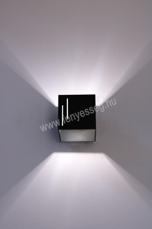 lampex 1izzos fali lampa quado modern 692 b cza felkapcsolva2