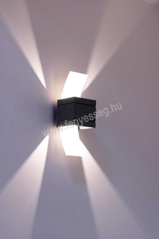 lampex 1izzos fali lampa vitrum 726 b cza felkapcsolva