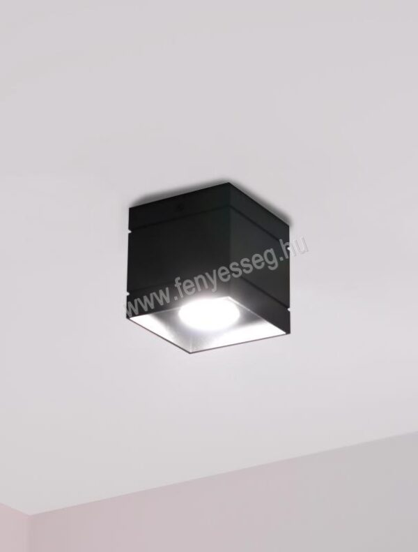 lampex 1izzos mennyezeti lampa quado deluxe 691 1 cza felkapcsolva