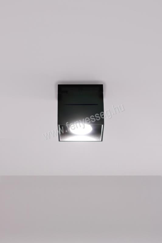 lampex 1izzos mennyezeti lampa quado pro 689 1 cza felkapcsolva2