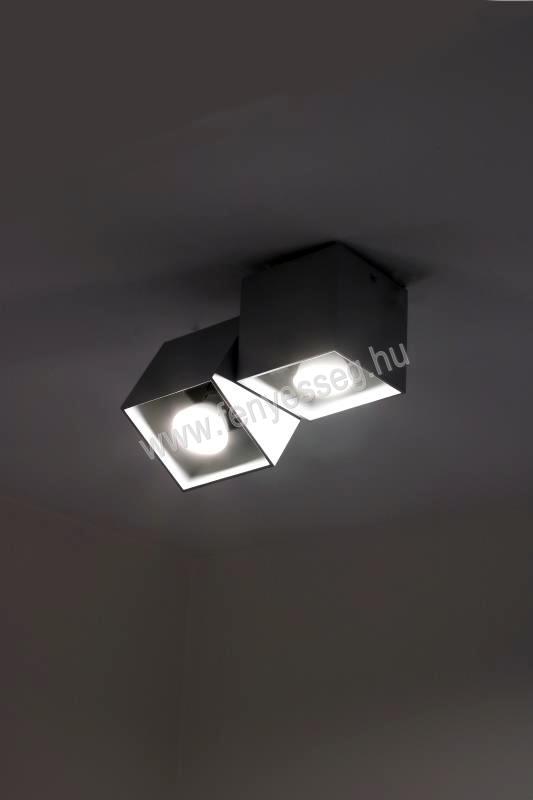 lampex 2izzos mennyezeti lampa kraft 650 2a cza felkapcsolva