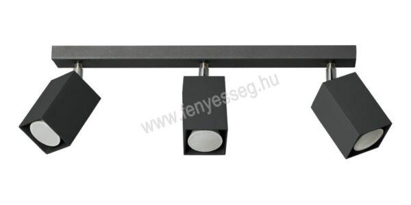lampex 3izzos mennyezeti lampa nero 718 3 cza
