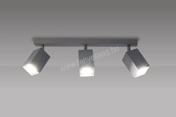 lampex 3izzos mennyezeti lampa nero 718 3 pop felkapcsolva