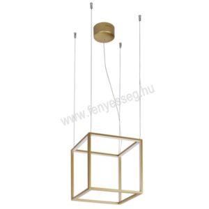 viokef led fuggesztek gold cube 4207000