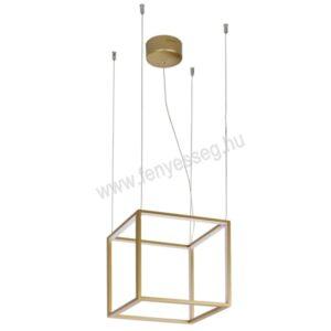 viokef led fuggesztek gold cube 4207100