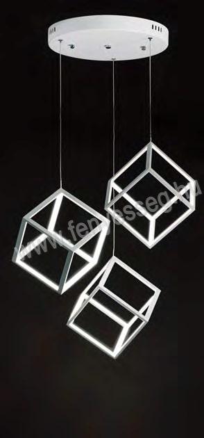 viokef led fuggesztek ice cube 4206800 felkapcsolva