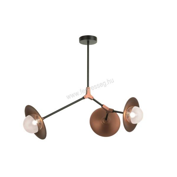 viokef 3izzos mennyezeti lampa olivia 4230900